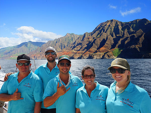 Kauai Sea Tours Crew